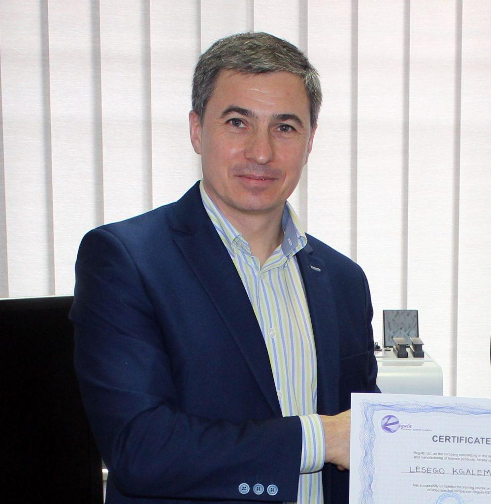 Presenter and host of the demonstration sessions will be Mr. Andrei Dumski, Regula Baltija Ltd.